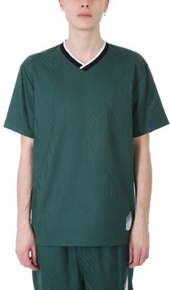 Alexander Wang Wool Soccer Wool Green T-shirt
