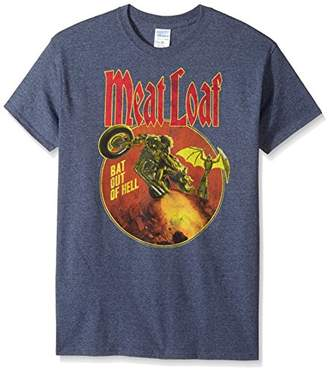 FEA Men's Meatloaf Bat Out Hell T-Shirt