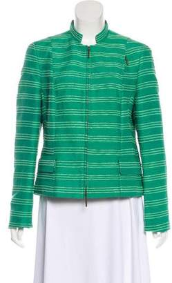 Akris Punto Structured Silk Jacket