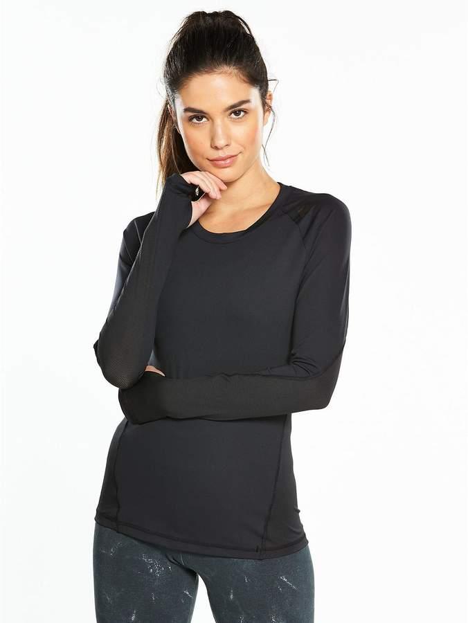Alphaskin Sport Long Sleeve Top - Black