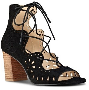 Women's Nine West Gweniah Ghillie Lace Gladiator Sandal $108.95 thestylecure.com