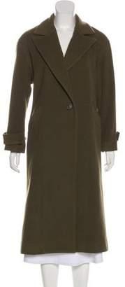 Mason by Michelle Mason Wool Long Coat