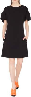 Akris Punto Layered Sleeve Dress