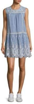Joie Josune Embroidered Eyelet Dress