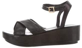 Robert Clergerie Leather Platform Sandals