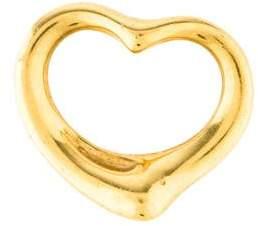 Tiffany & Co. 18K Open Heart Pendant
