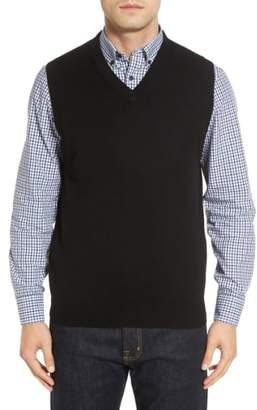Nordstrom Cashmere V-Neck Sweater Vest