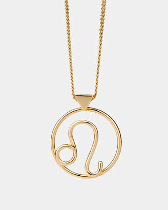 Karen Walker Leo Zodiac Necklace