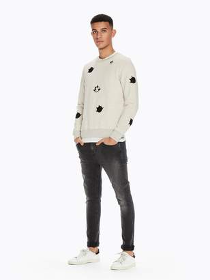 Scotch & Soda Applique Sweatshirt Felix the Cat