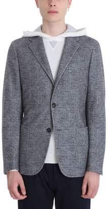 Ermenegildo Zegna Grey Cashmere Blazer