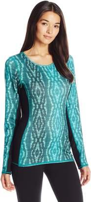 Miraclesuit MSP Women's Printed Reversible Long Sleeve Top