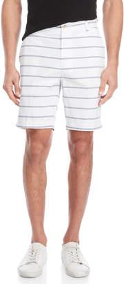 Nautica White Stripe Shorts