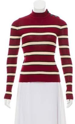 Etoile Isabel Marant Striped Crew Neck Sweater