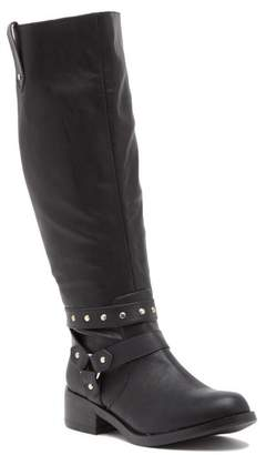 Moto Abound Faux Leather Tall Boot