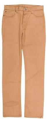 Helmut Lang Vintage Silk-Blend Five-Pocket Skinny Jeans