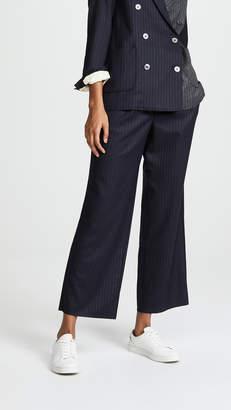 La Prestic Ouiston Dab Cropped Trousers