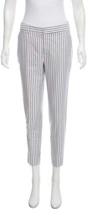 Steven Alan Stripped Mid-Rise Pants