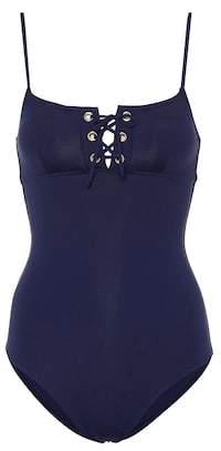 Melissa Odabash Cyprus lace-up swimsuit