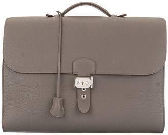 Pre-Owned Sac A Depeche 38 Briefcase Hand Bag Togo