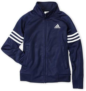adidas Boys 8-20) Track Tonal Camo Jacket