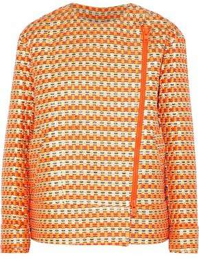 RED Valentino Metallic Jacquard Jacket