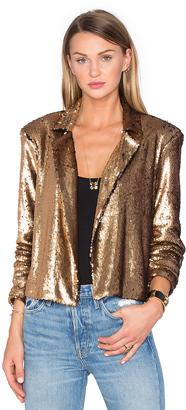 House of Harlow x REVOLVE Gigi Sequin Bolero $180 thestylecure.com