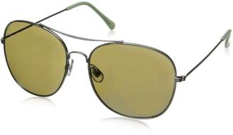 Sam Edelman Women's Cc180 Slv Aviator Sunglasses
