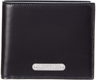 Saint Laurent Id East West Leather Bifold Wallet