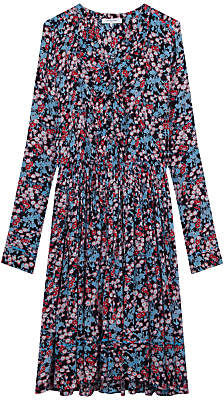 Gerard Darel Margaux Dress, Blue/Multi