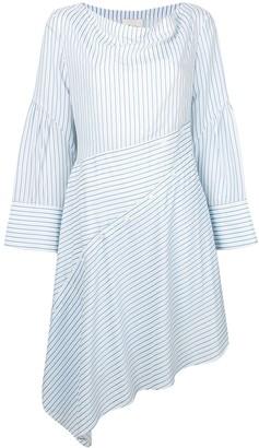 3.1 Phillip Lim striped asymmetric dress