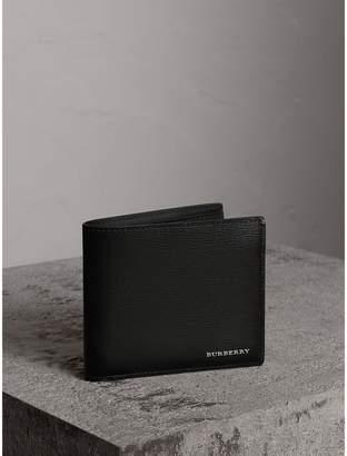 Burberry Leather International Bifold Wallet