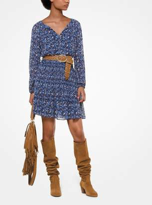 MICHAEL Michael Kors Paisley Georgette Dress