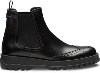 Prada slip-on ankle boots