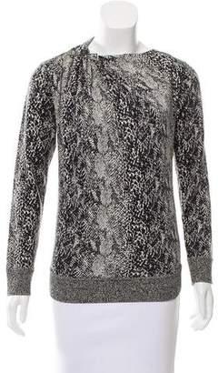 Lanvin Jacquard Wool Sweater