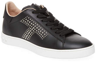 Tod's Studded T Leather Sneaker