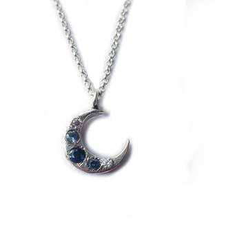 Mary Gallagher Blue Moon Pendant