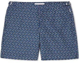 Bulldog Garda Mid-Length Printed Swim Shorts