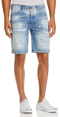 Diesel Bustshort Straight Fit Denim Shorts $148 thestylecure.com