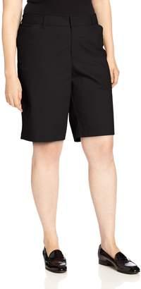 Dickies Women's Plus-Size 10 Inch Stretch Twill Short