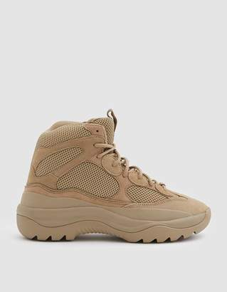 Yeezy Thick Suede Desert Boot in Taupe