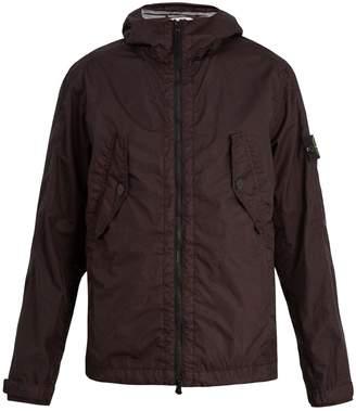 Stone Island Hooded field jacket