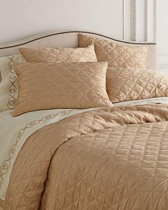 Fino Lino Linen & Lace Queen Quattro Coverlet