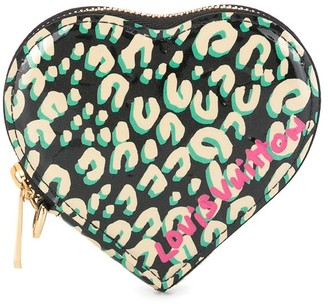 Louis Vuitton Pre-Owned Coeur leopard print coin purse
