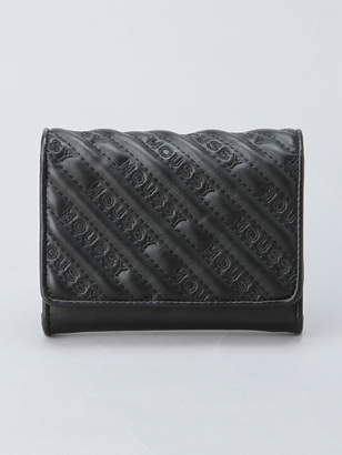 Moussy (マウジー) - MOUSSY MOUSSY/QUILTING WALLET MINI FLAP WALLET アスチュート 財布/小物