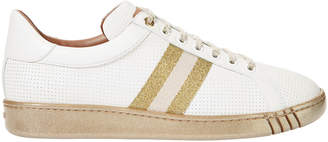 Bally Wicki Glitter Striped Trainer Sneakers