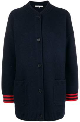 Parker Chinti & back embroidered cardi-coat