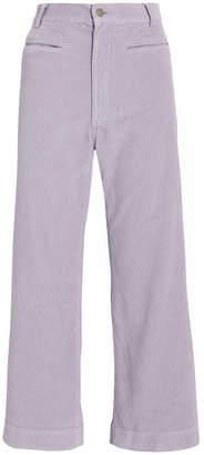 A.L.C. Jay Lavender Corduroy Pants