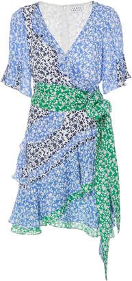 Tanya Taylor Bianka Floral Silk Dress