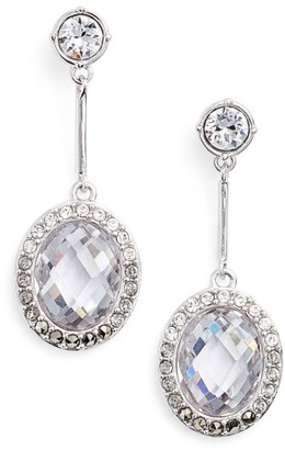 Women's Judith Jack Lend An Ear Oval Drop Earrings $125 thestylecure.com