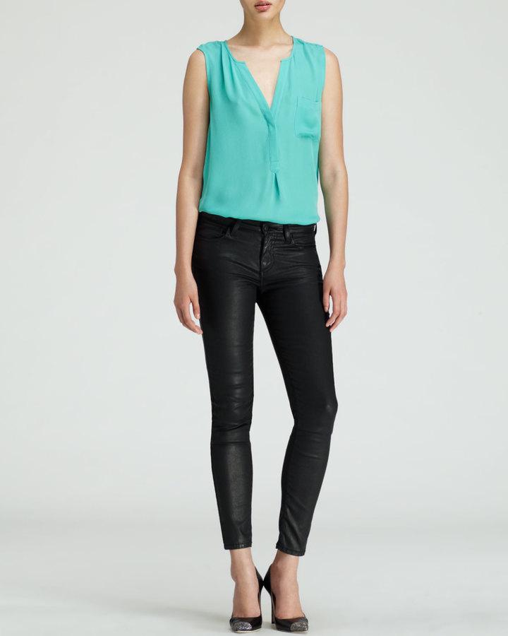 Joie Nailah Faux-Leather Pants